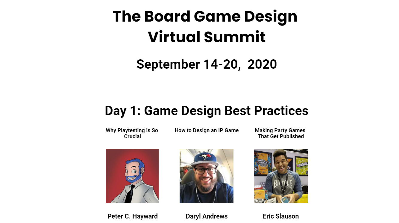 Virtual Summit Day 1